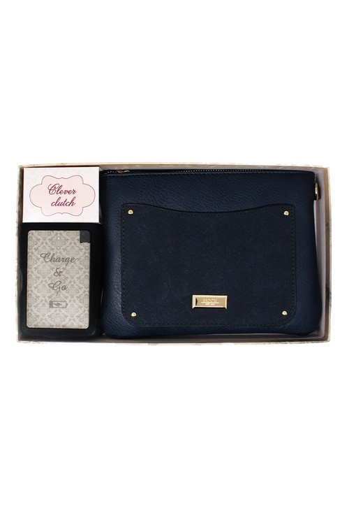 Something Special Navy Clever Clutch Gift Set