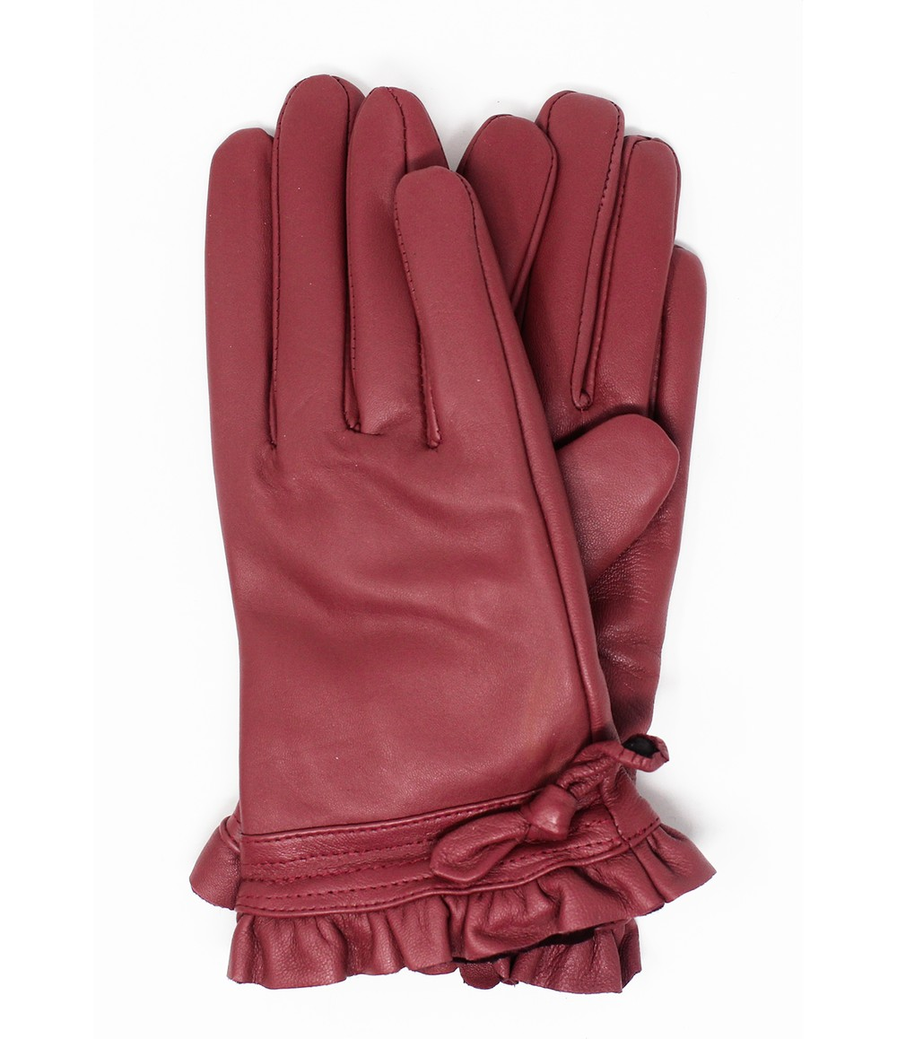 Something Special Dusty Pink Genuine Leather Gloves