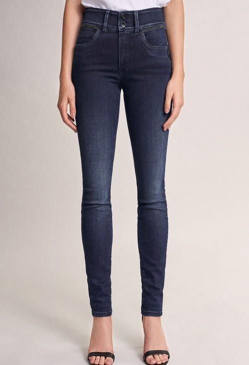 Salsa Jeans 30 Leg Push in Secret Skinny Jeans with Sparkle on Belt