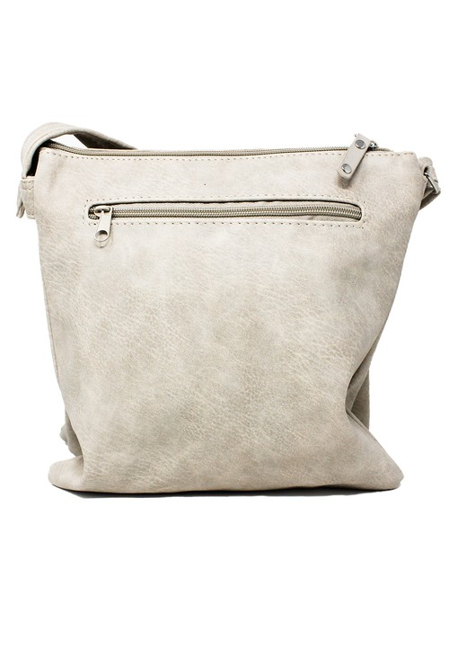 Pamela Scott Beige and Blush Crossbody Bag