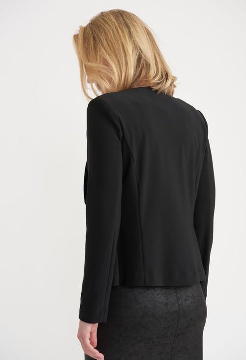 Joseph Ribkoff Black Open Jacket