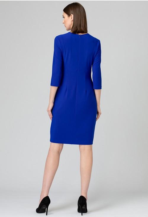 Joseph Ribkoff Royal Sapphire Button Down Dress