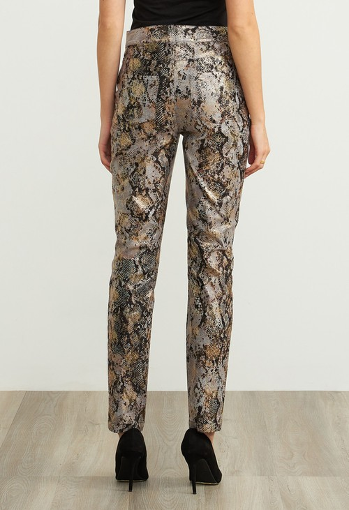 Joseph Ribkoff Snake Skin Trousers