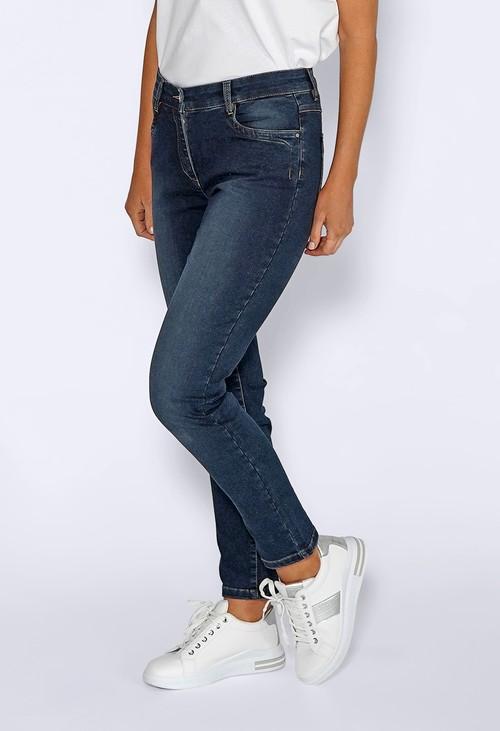 Sophie B Stone Blue Straight Leg Jeans