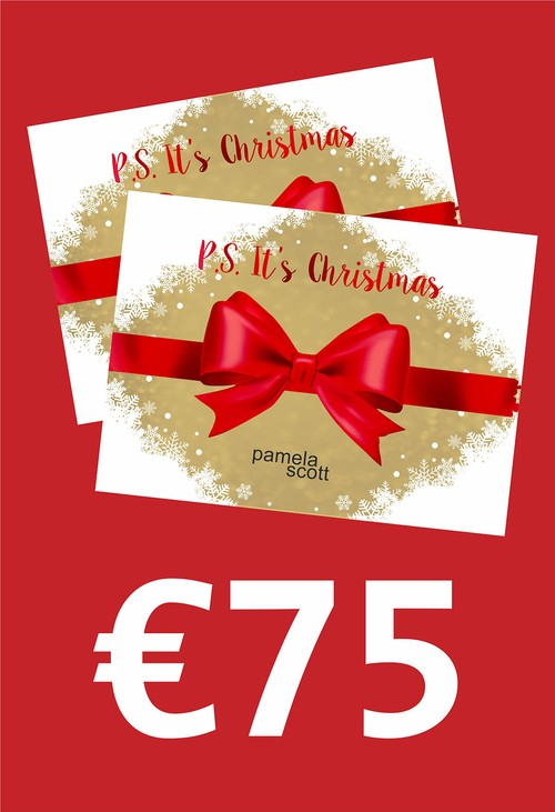 Pamela Scott Gift Voucher 75 Euro Gift Voucher