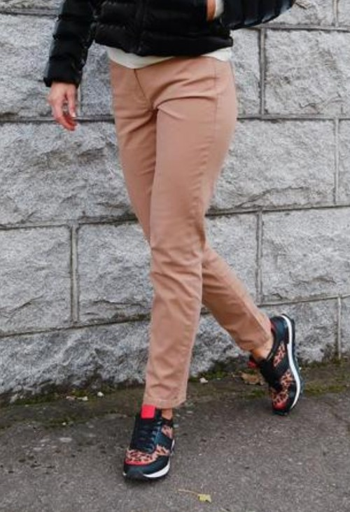 Betty Barclay Brown Slim Fit Trousers