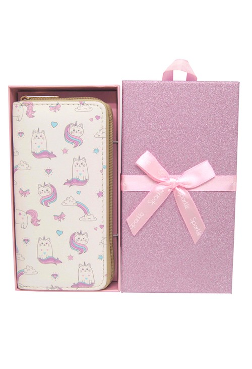Pulse & Sparkle Cream Unicats Wallet