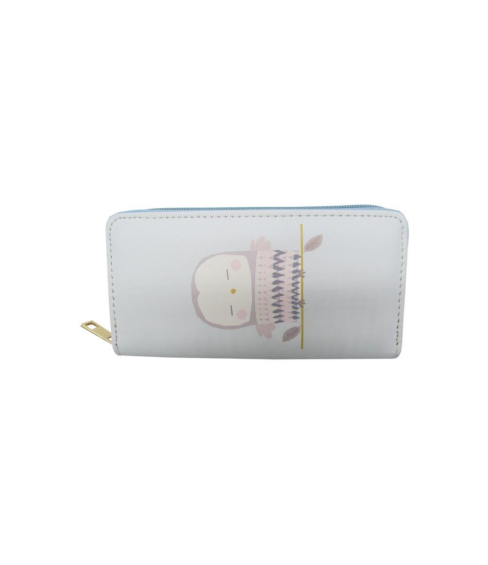 Pulse & Sparkle Blue Owl Wallet