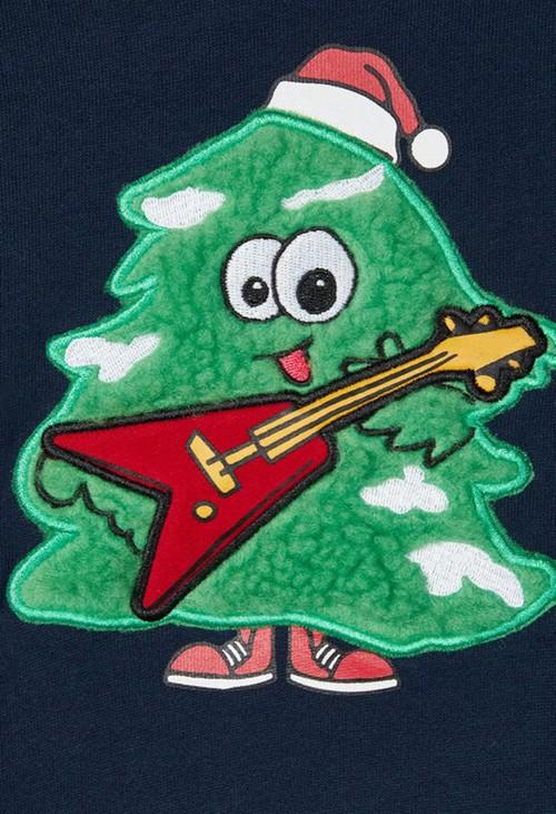 PS Kids Dark Sapphire Kids Knit Christmas Jumper