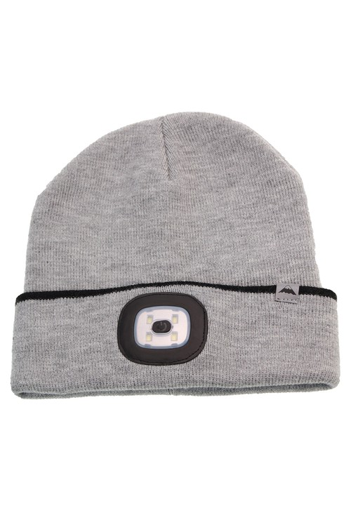 Something Special Grey Hat with LED Torch