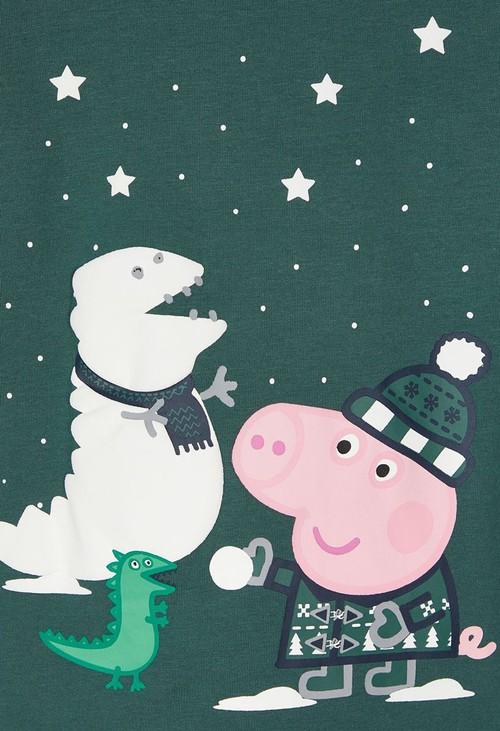 PS Kids Bistro Green Kids Peppa Pig Nightwear Gift Set