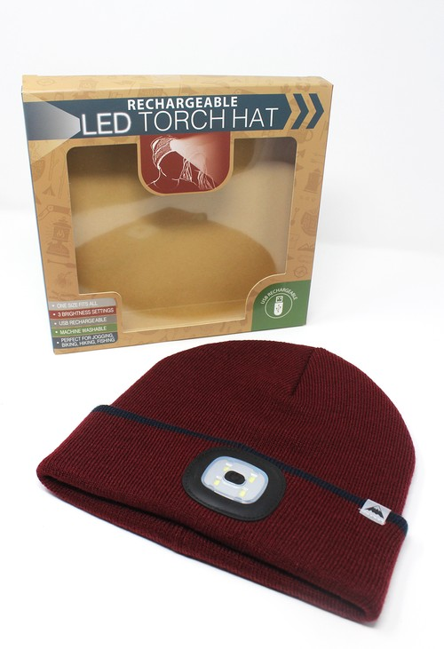 Something Special Wine Hat with LED Torch
