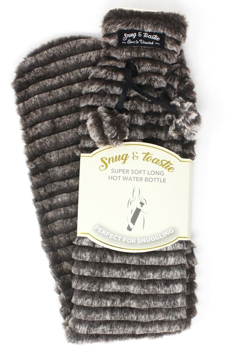 Something Special Grey Extra Long Hot Water Bottle