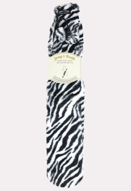 Something Special Zebra Extra Long Hot Water Bottle
