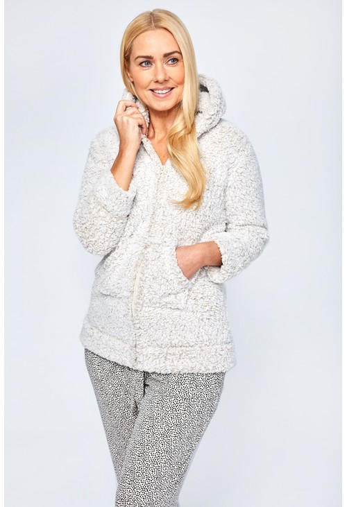 Something Special Light Grey Hooded Snuggle Top Gift Box