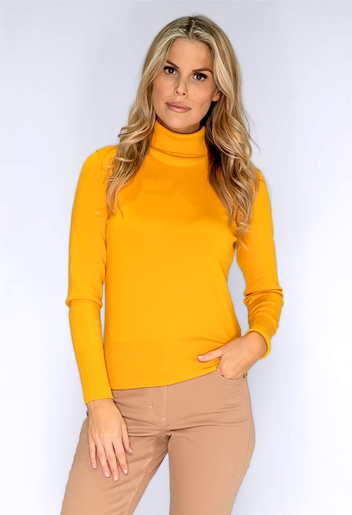 Betty Barclay Golden Turtleneck Knit
