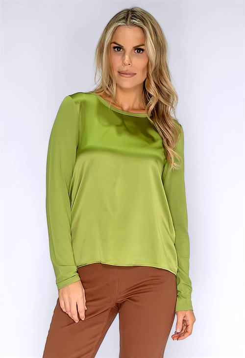 Betty Barclay Moss Green Blouse