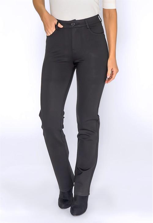 YOU YOU Black Straight leg Trousers