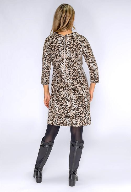 Betty Barclay Leopard Print Knit Dress