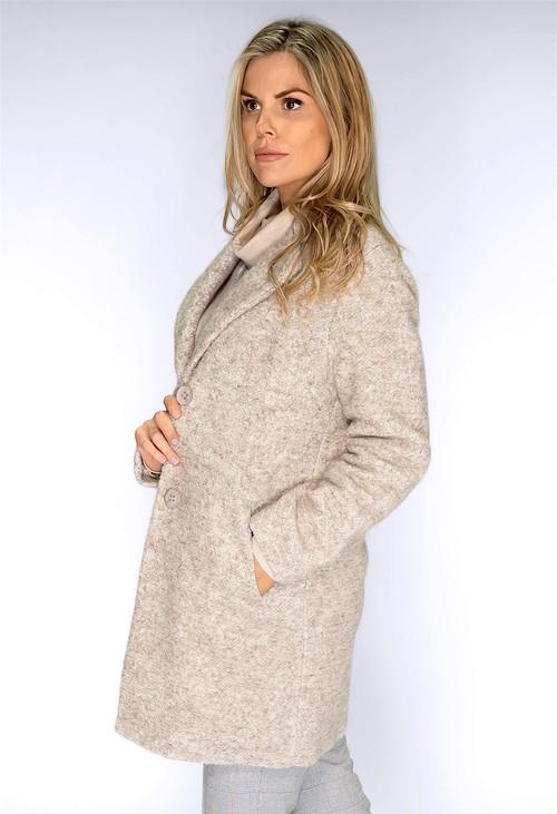 Bianca Carmel Wool Coat