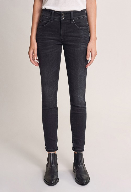 Salsa Jeans Push in Secret Skinny Dark Jeans (30 Leg)