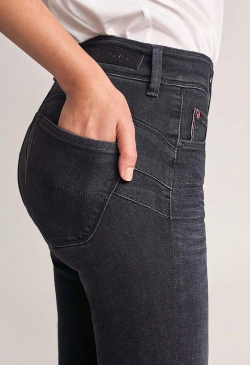 Salsa Jeans Push in Secret Skinny Dark Jeans (30 Leg)