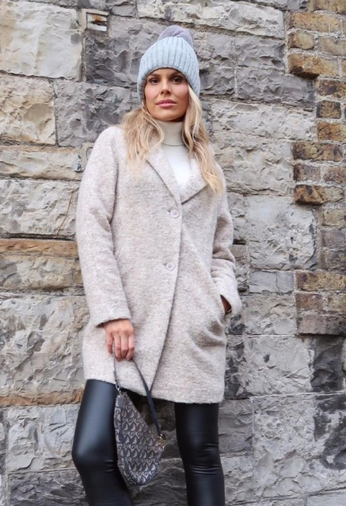 Bianca Carmel Wool Coat