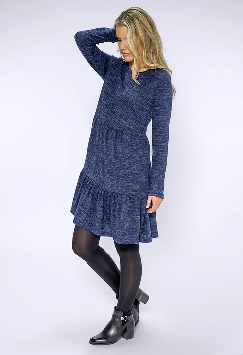 Pamela Scott Navy Jersey Dress