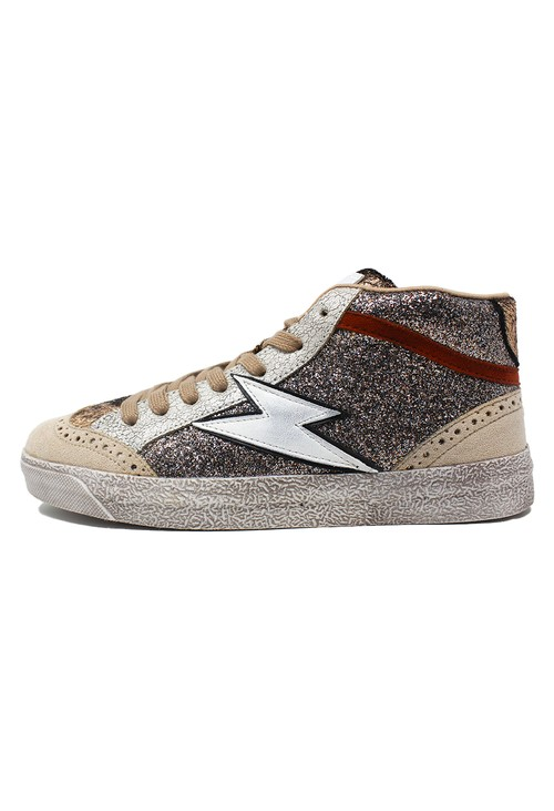 Shoe Lounge Bronze Metallic Trainers