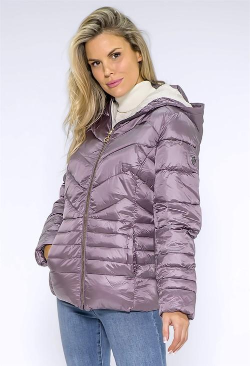 Pamela Scott Heather Quilted Coat