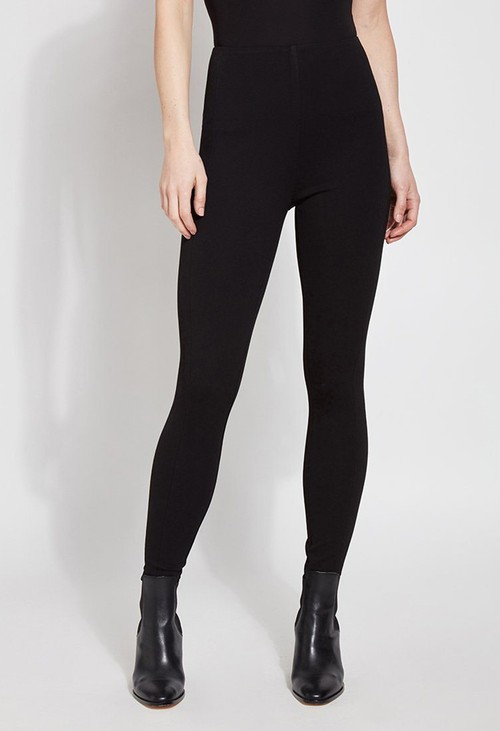 Lysse Leggings Double Knit Black Leggings