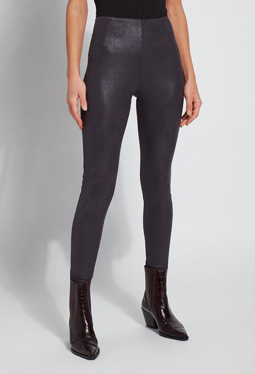 Lysse Leggings Graphite Suede Leggings