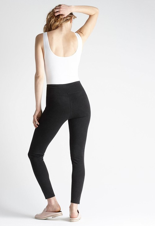 Yummie  Signature Black Denim Leggings