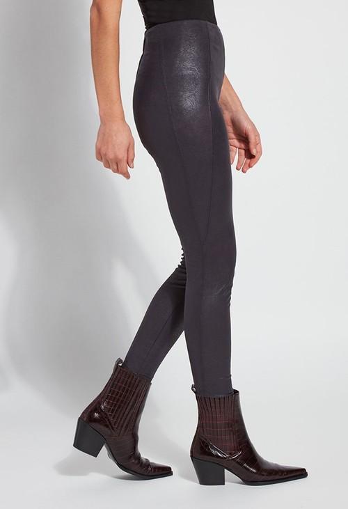 Lysse Leggings Graphite Suede Leggings