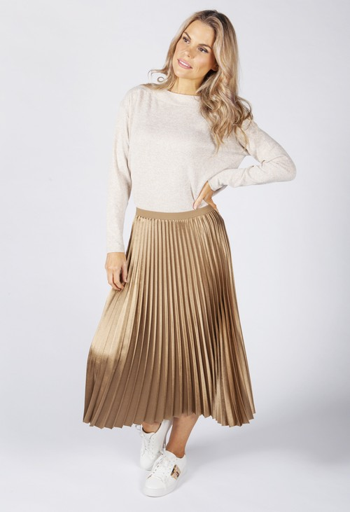 Opus pleated skirt Rury