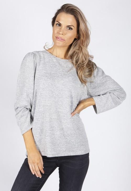 Opus Sonrisa Grey Shirt
