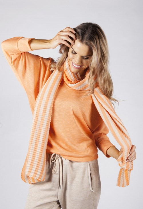 Opus Orange Ais Scarf