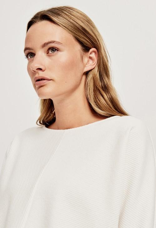 Opus White Gufi Sweater