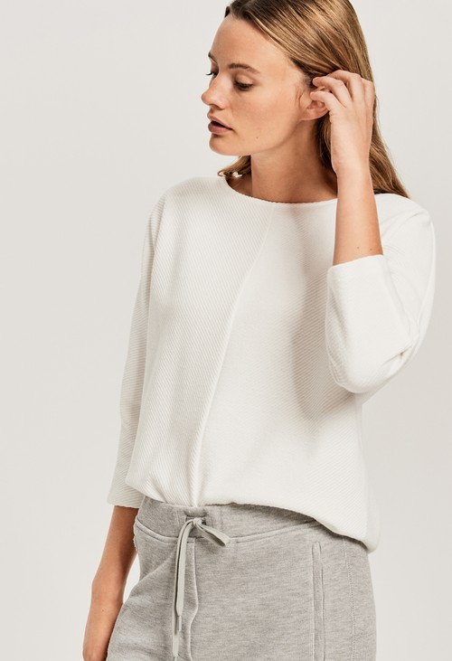 Opus White Gufi Sweater