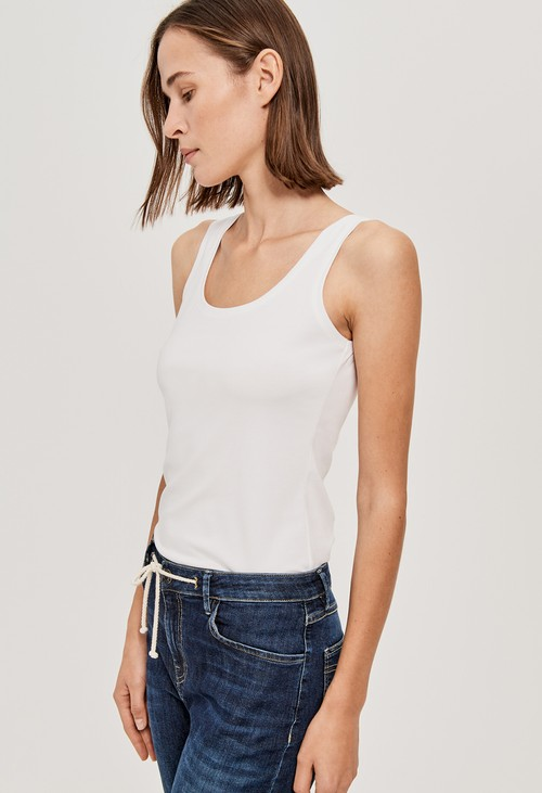 Opus WHITE TANK TOP