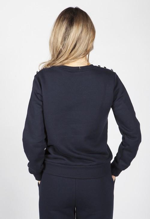 Twist Navy Polo Sweatshirt