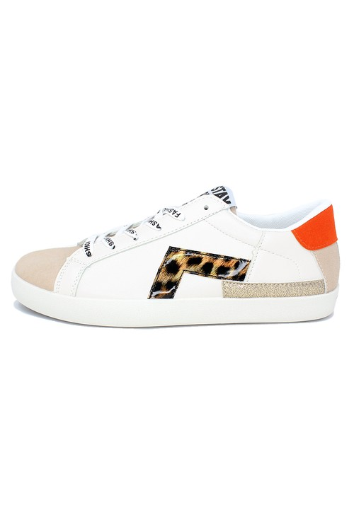 Shoe Lounge Leopard Fashion Laced Trainers