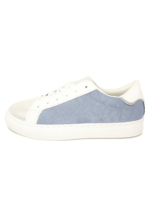 Shoe Lounge Sky Blue Faux Suede Trainers