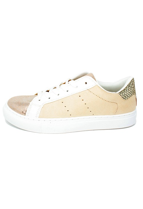 Shoe Lounge Beige Faux Suede Trainers