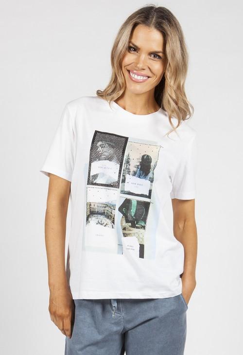 Pamela Scott Pictures Printed T-shirt