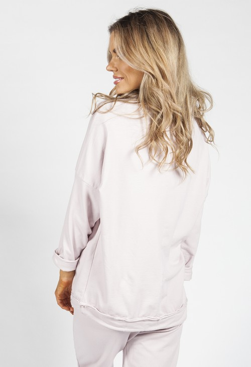 Zapara Dusty Pink Love Jumper