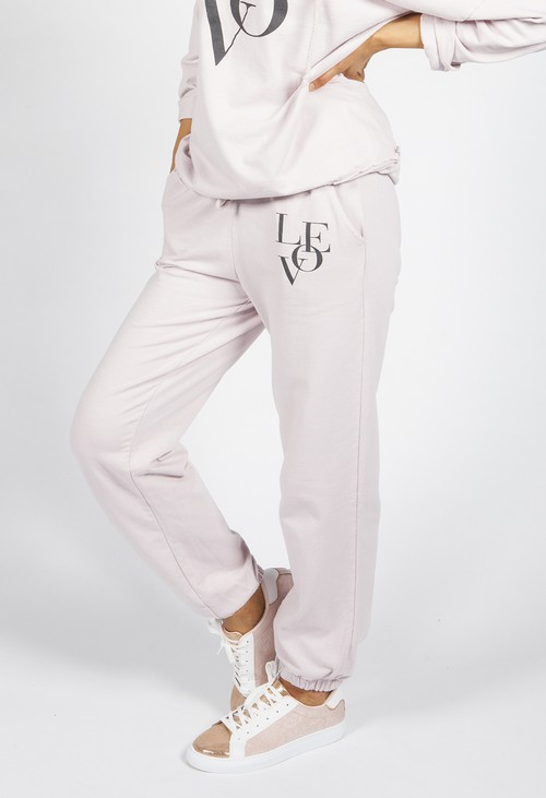 Zapara Dusty Pink Love Joggers