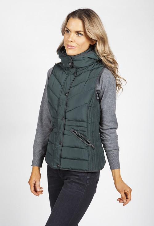 PS Collection Emerald Hooded Gilet