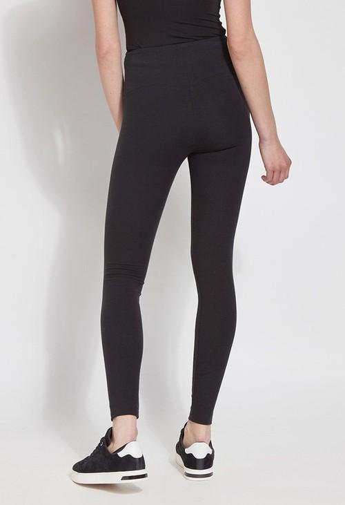 Lysse Leggings Flattering Black Cotton Leggings