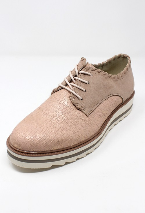 Shoe Lounge Dusted Pink Brogues